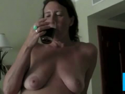 Busty matures fucked in a trio