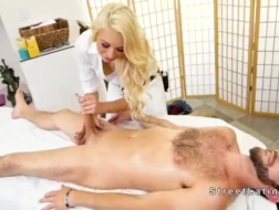 Mature blonde gives way to a pervert