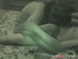 Girl likes to tempt her BF while they are on their vacation, because she likes his dick
