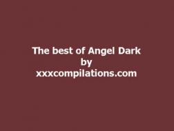 Angel Dark licks mommy bikini