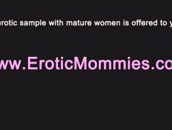 Mature housewife oral pleasures three studs