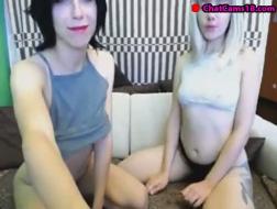 Sexy damer i lesbisk faen