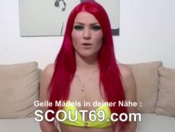 Mein erstes Video Deutscherin gefilmt