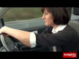 Hentai im Auto-porno