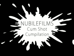 Asian cumshot compilation shows both fingers and cum