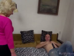 Old skank gets a retro pounding
