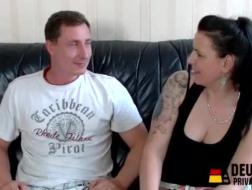 Pornstar allemande mature baisée après avoir sucé une bite