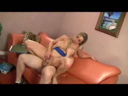 Busty Blonde Mature Russia And Son