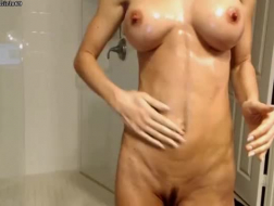 Fit, slim brunette went to the hospital and asked a handsome doctor to fuck her good