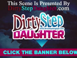 Bf and stepdaughter desires for wild threesome fuck, so she starts a shoot with her stepdaughter, made the model into the perfect slut and fucked her love tunnel so hard her big bazongas were screaming