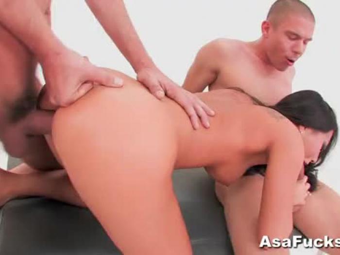 asa akira s dual ass-fuck and dual invasion