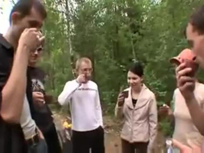 súper grupo fuck-fest adolescentes rubio ceniza rectal