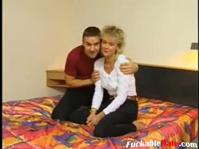youthful german man boink mature lady