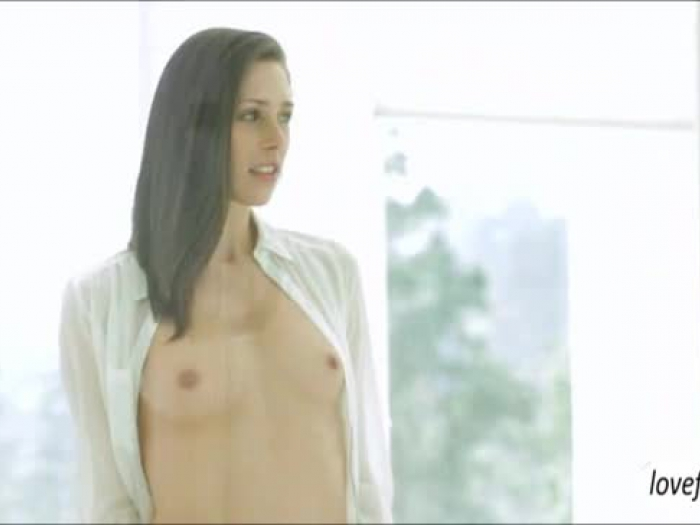 slender brown-haired honey anastasia gets pulverized all the way and receives a facial cumshot
