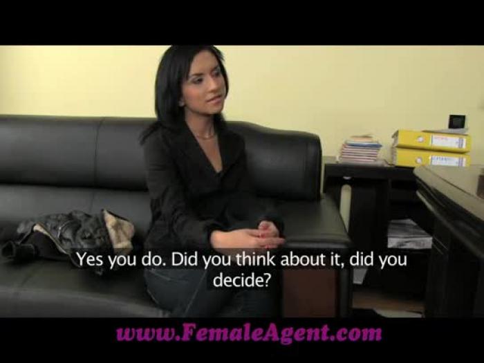 femaleagent uma verdadeira audição traque sexual