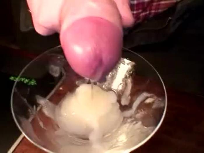 descuidado esperma beber fetiche cockslut